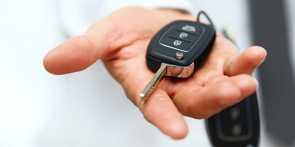 our car key is lost, stolen,